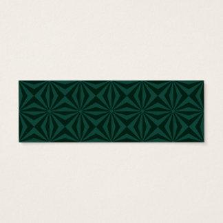 Sunbeams in Green tiled Card