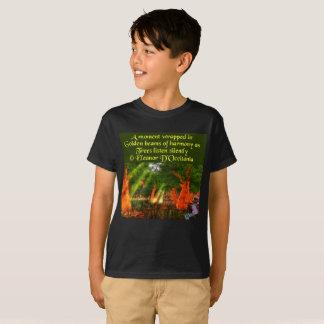 Sunbeams of Harmony Poetry Kids' Hanes T-Shirt