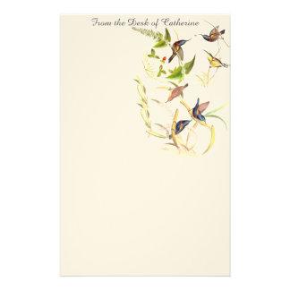 Sunbird Birds Asian Wildlife Stationery