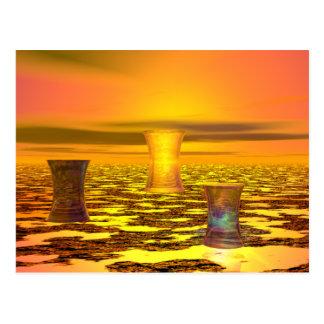 Sunbright Computer Art Postcard by CricketDiane