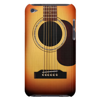 Sunburst Acoustic Guitar Barely There iPod Covers