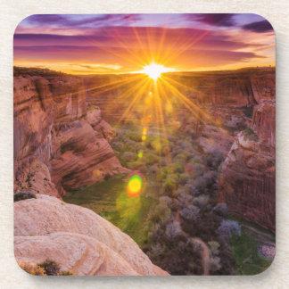 Sunburst at Canyon de Chelly, AZ Coaster