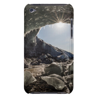 Sunburst at ice cave entrance barely there iPod cases