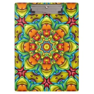 Sunburst Colorful Clipboard