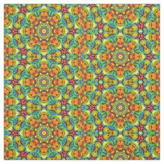 Sunburst Colorful Fabric