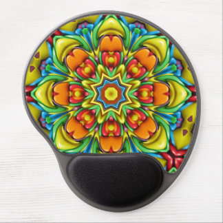 Sunburst Colorful Gel Mousepad