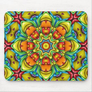 Sunburst Colorful Mousepad