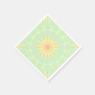 Sunburst Disposable Napkin