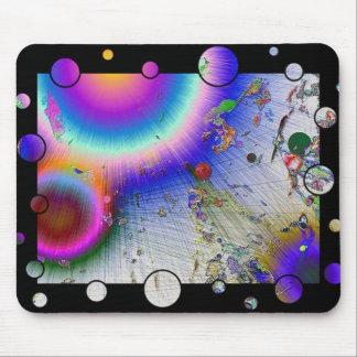 Sunburst Fun Frame neg Mouse Pad