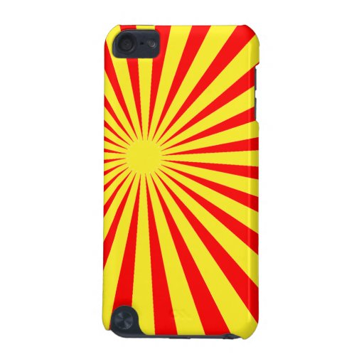 Sunburst iPod Case iPod Touch 5G Cover