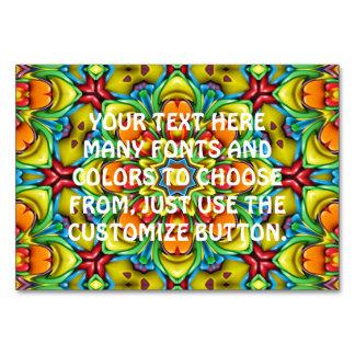 Sunburst Kaleidoscope   Tablecards Card
