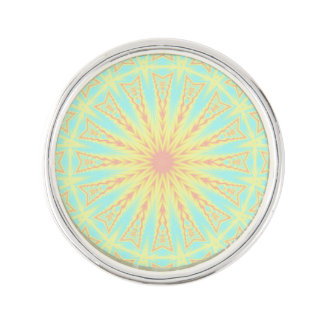 Sunburst Lapel Pin