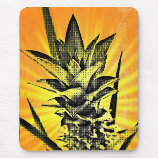 Sunburst mini Pineapple Mouse Pad