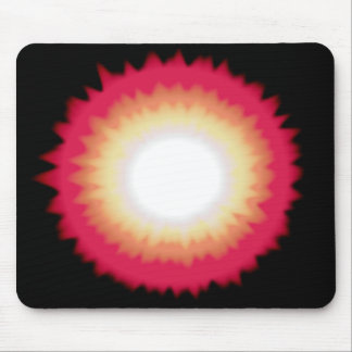 sunburst mouse pad
