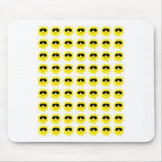 sunburst mouse pad