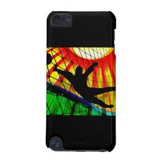 Sunburst & Net Soccer Goalie iPod Touch 5G Case