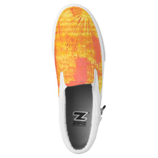 """Sunburst""original art byTquinnartist Slip-On Shoes"