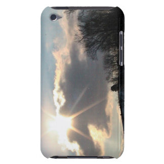 Sunburst Over Snowy Hill Case-Mate iPod Touch Case