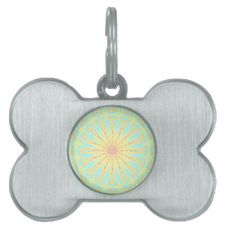 Sunburst Pet Tag
