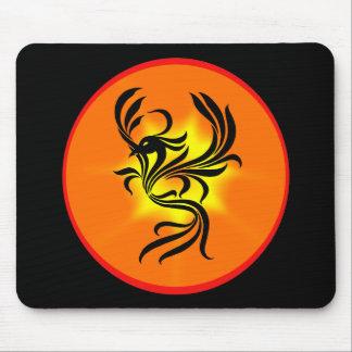 Sunburst Phoenix Mouse Pad