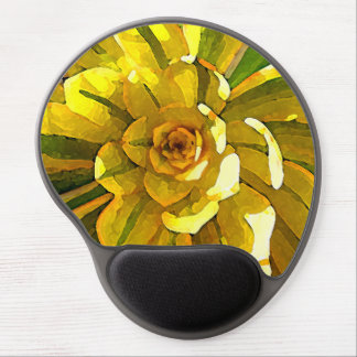 Sunburst Succulent by Amy Vangsgard Gel Mouse Pad