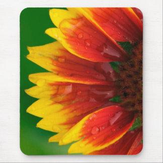 Sunburst Sunflower Mouse Pad