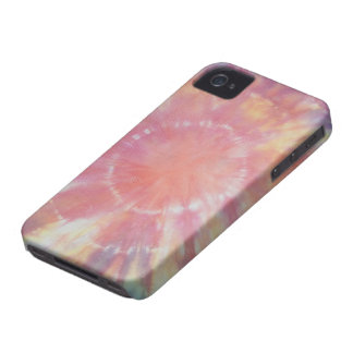 Sunburst Tie Dye warm I iPhone 4 Case