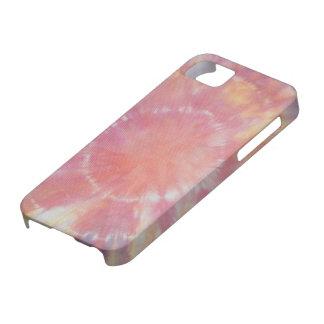 Sunburst Tie Dye warm I iPhone 5 Case