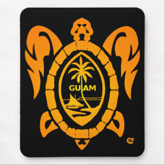 sunburst turtle mouse pad