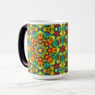 Sunburst Vintage Kaleidoscope   Morphing Mug