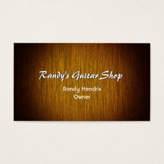 Sunburst Wood Minimal Custom Business Card