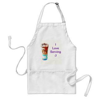 Sundae ice-cream standard apron