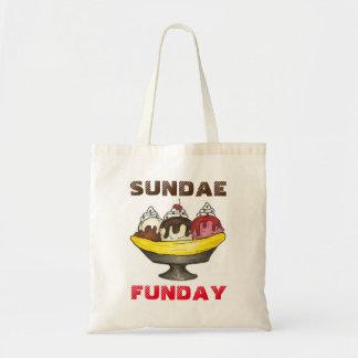 SUNDAE (SUNDAY) FUNDAY Ice Cream Banana Split Food