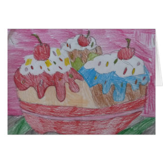 Sundae Treat Card