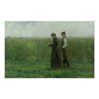 Sunday Afternoon, 1893 Poster
