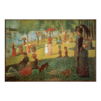 Sunday Afternoon by Georges Seurat Print