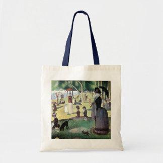 Sunday Afternoon, Island La Grande Jatte by Seurat Budget Tote Bag