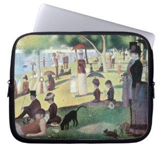 Sunday Afternoon, Island La Grande Jatte by Seurat Laptop Sleeve
