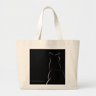 Sunday Afternoon Large Tote Bag