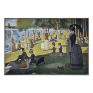 Sunday Afternoon on the Island of La Grande Jatte Poster