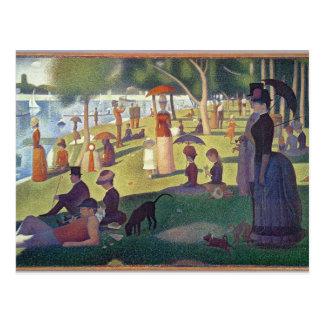 Sunday Afternoon on the Island of La Grande Postcard