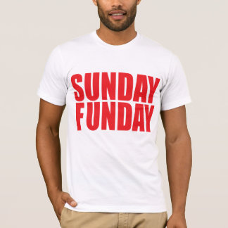 Sunday Funday American Apparel T-Shirt