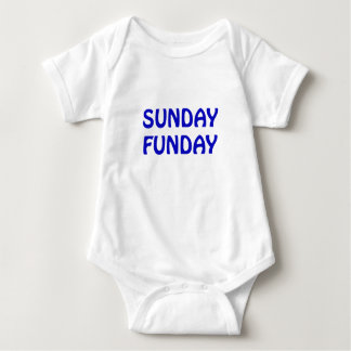 Sunday Funday Baby Bodysuit