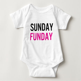 Sunday Funday Baby One Piece Baby Bodysuit