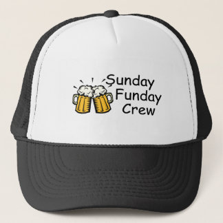 Sunday Funday Crew Beer Trucker Hat