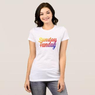 Sunday Funday Rainbow T-Shirt