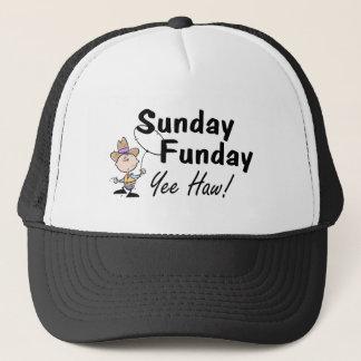 Sunday Funday Yee Haw Trucker Hat