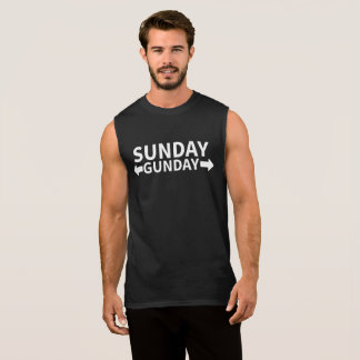 Sunday Gunday Sleeveless Shirt
