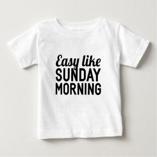 Sunday Morning Baby T-Shirt