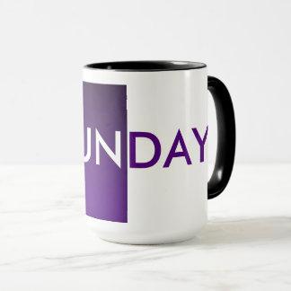 SUNDAY MUG, COFFEE TIME By ZAZZ_IT Mug